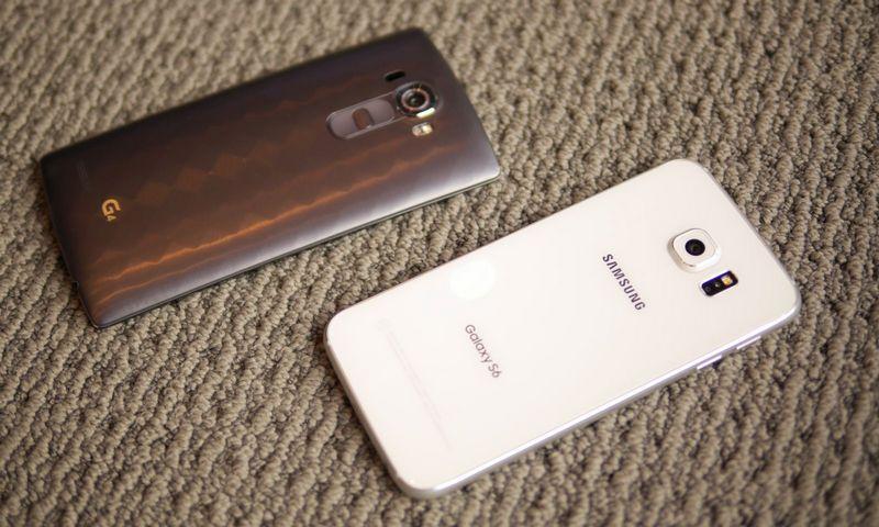 LG G4 Galaxy S6 Design