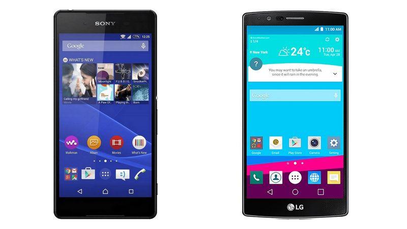 LG G4 Sony Xperia Z4