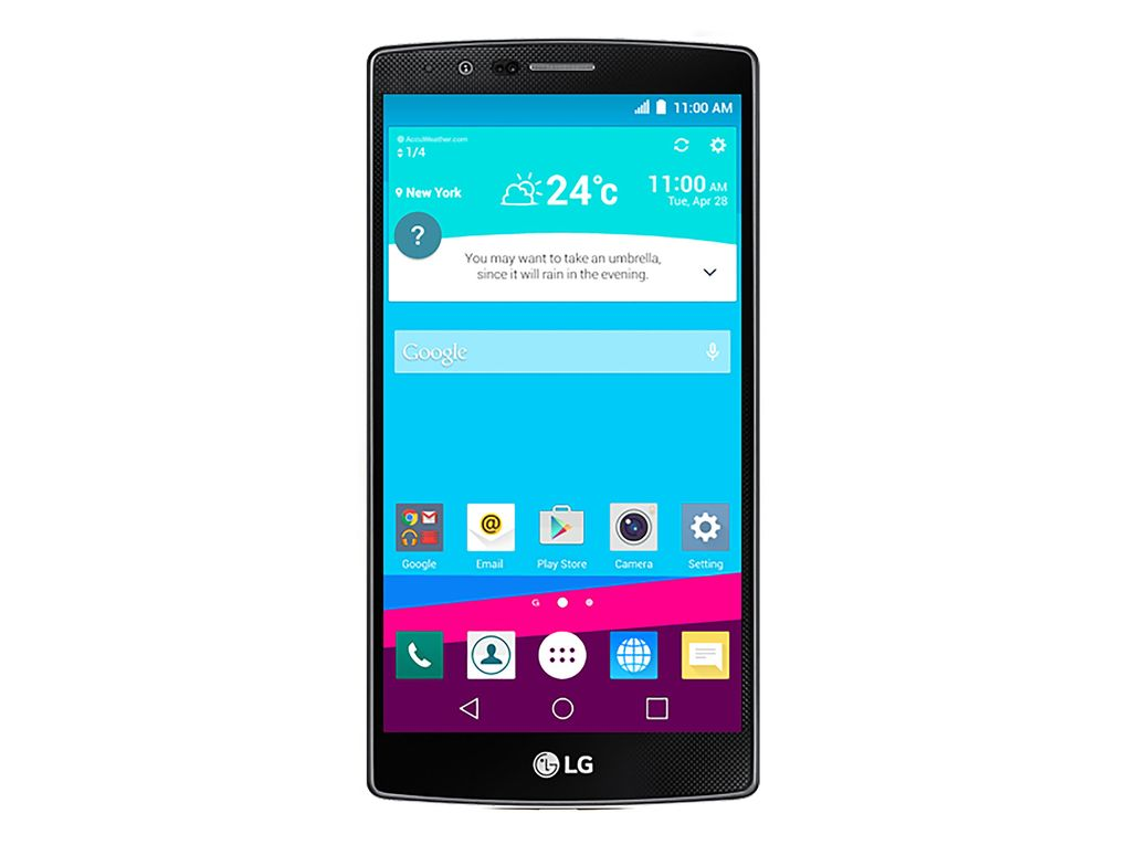 ecran interface lG G4