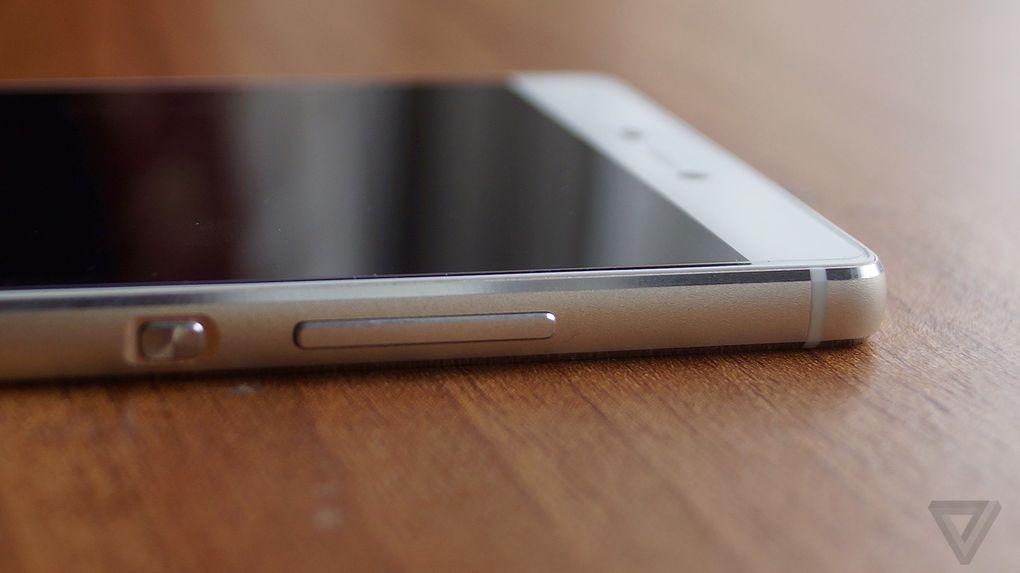 Huawei P8 bouton
