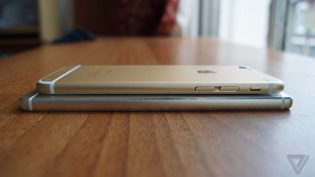 Huawei P8 iPhone 6