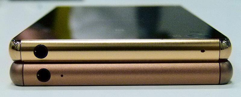 Xperia Z4 vs Z3 boutons