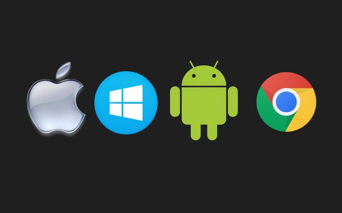 android chromeos windows mac linux