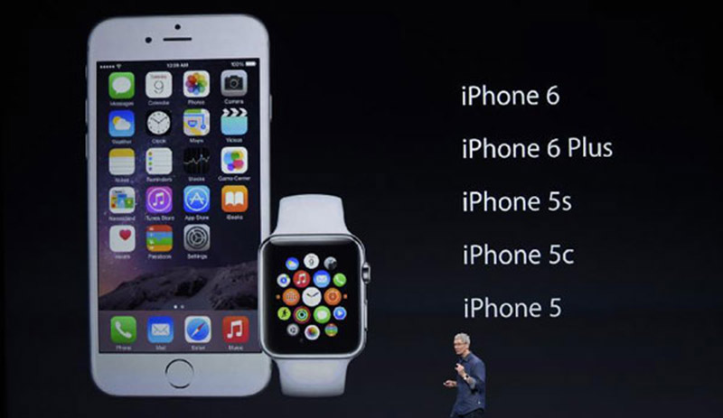apple watch compatibilite iphone