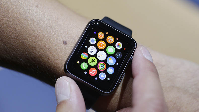 apple watch couronne interface