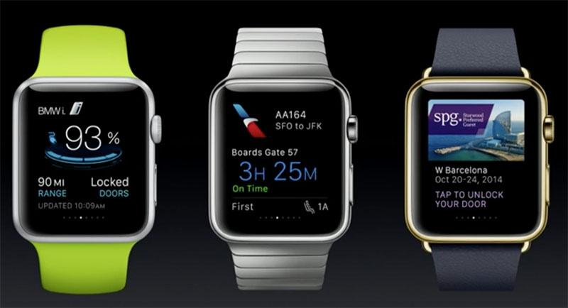 apple watch applications