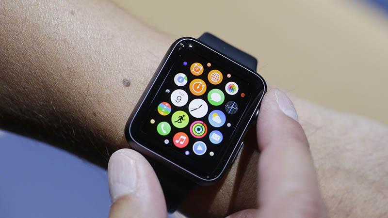 apple watch molette bouton