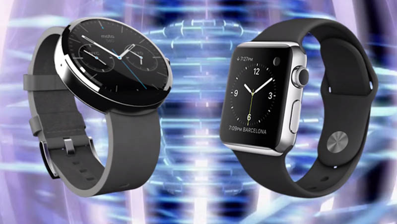 apple watch sport vs moto 360 prix