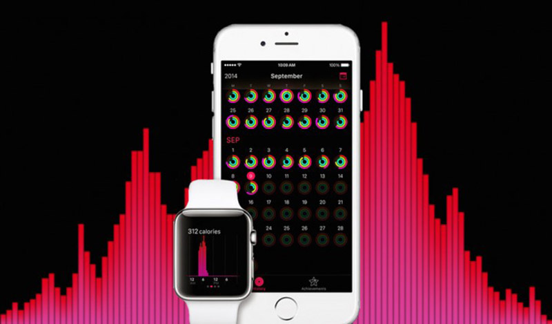 apple watch tracker activite