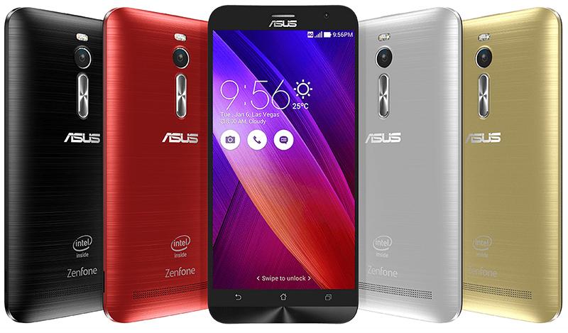 Asus Zenfone 2, multitâche