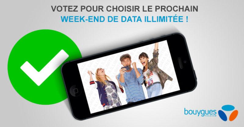 bouygues telecom week end data illimite choix date