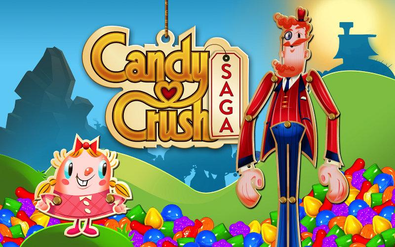 Candy crush, pouce cassé