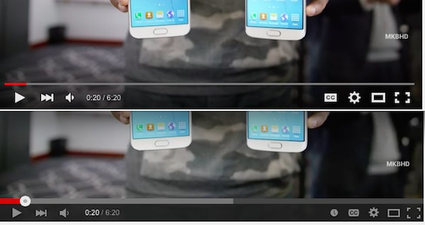 comparatif interfaces youtube