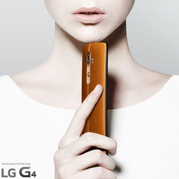 LG G4 cuir
