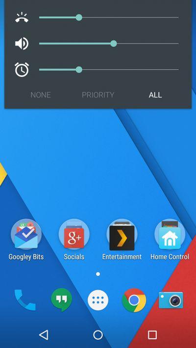 Cyanogen OS 12 volume