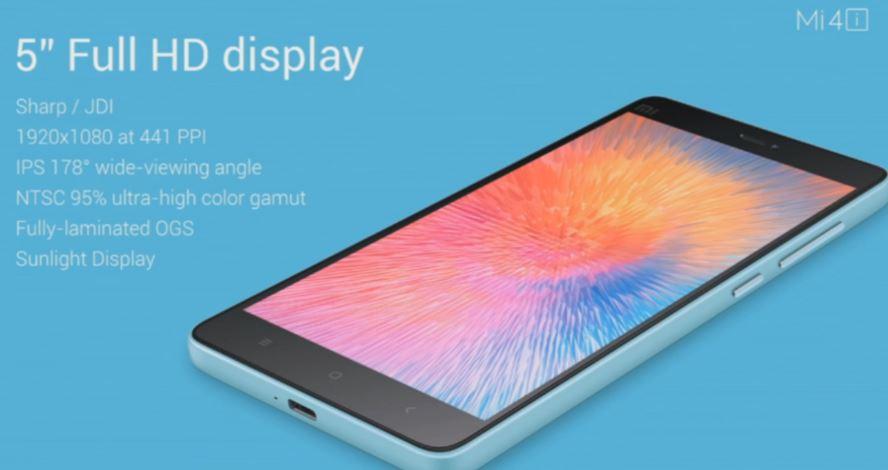 ecran Xiaomi Mi4i