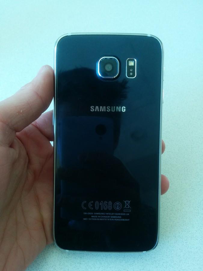 faux Galaxy S6 camera
