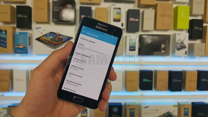 Galaxy A3 Android 5.0