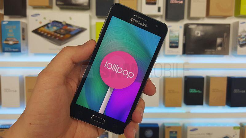 Galaxy A3 Lollipop