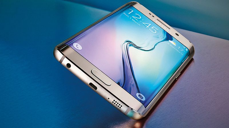 Galaxy S6 Edge Android 5.1. Lollipop