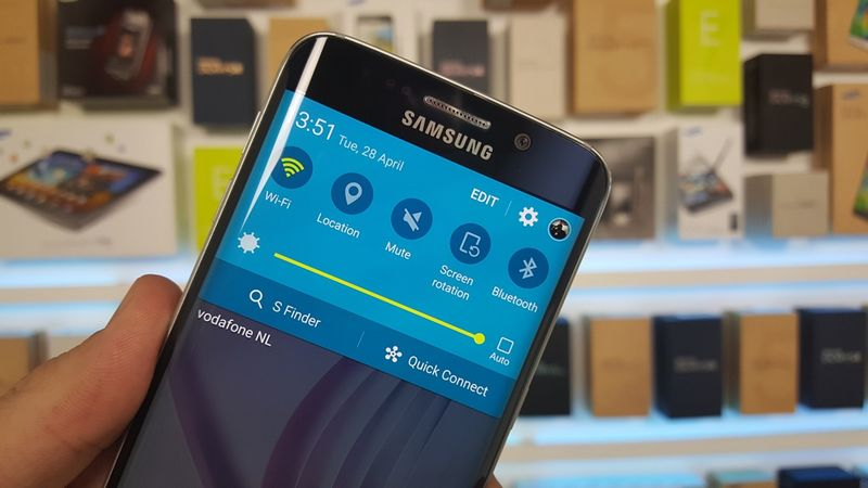 Galaxy S6 Edge Android 5.1 Lollipop