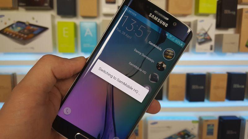Galaxy S6 Edge changer utilisateur