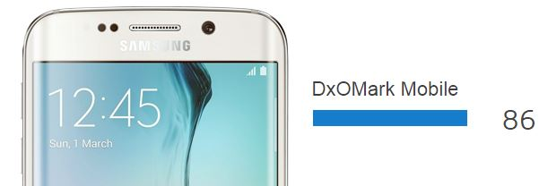 Galaxy S6 Edge dxomark