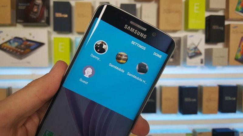 Galaxy S6 Edge mode invite