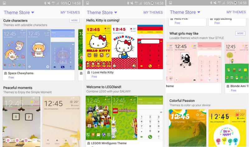 Galaxy S6 themes