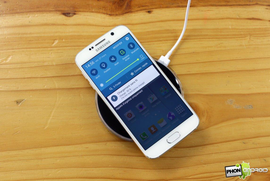 autonomie Galaxy S6 S6 Edge