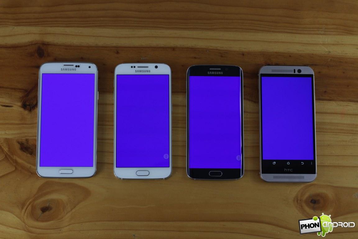 galaxy s6 bleu