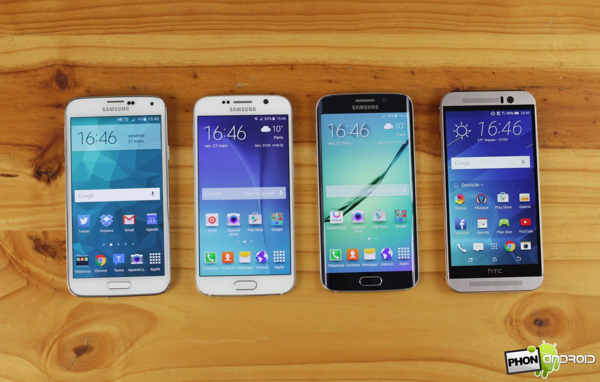 galaxy s6 comparatif ecran