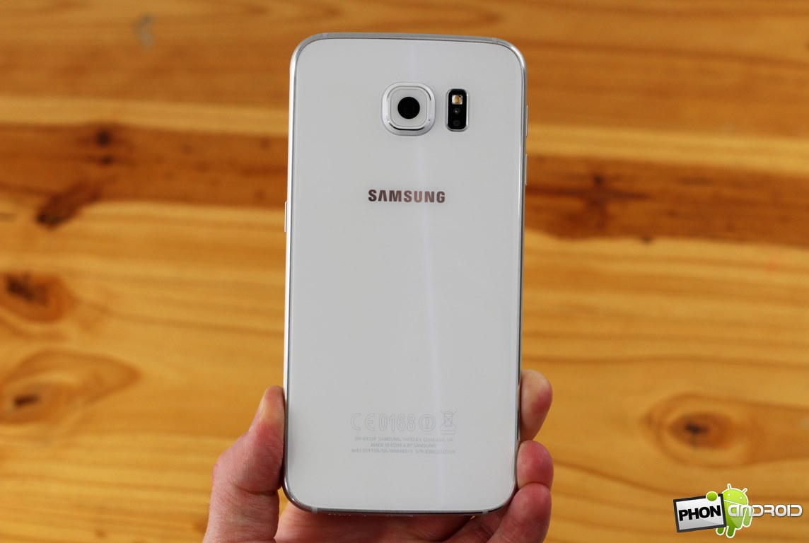 galaxy s6 design verre