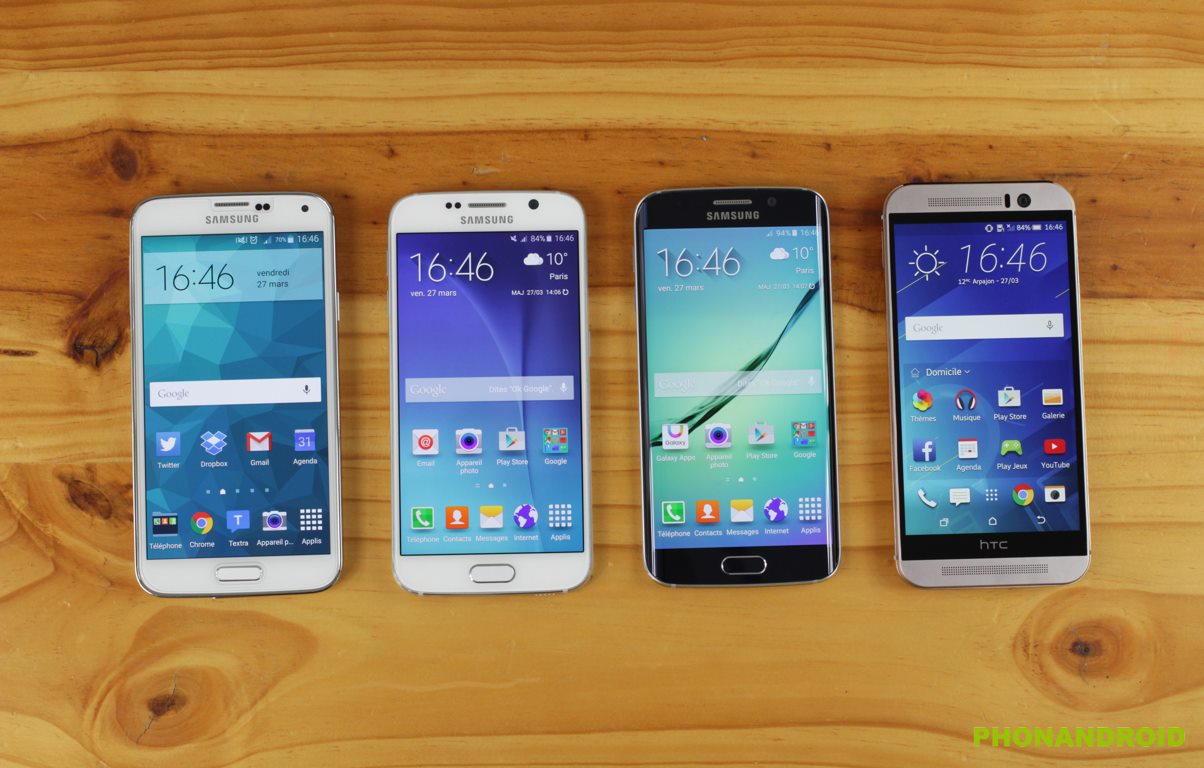 galaxy s6 edge comparatif