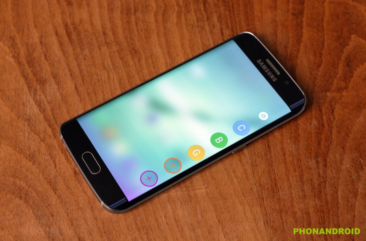 Galaxy S6 Edge contacts favoris