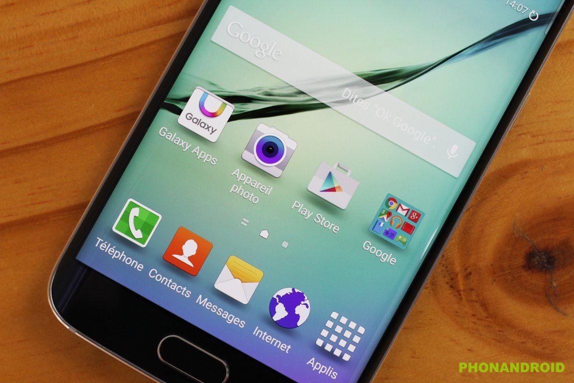 Galaxy S6 Edge mise a jour