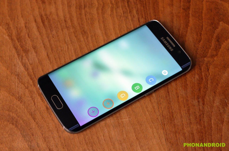 Galaxy S6 Edge, peinture photo