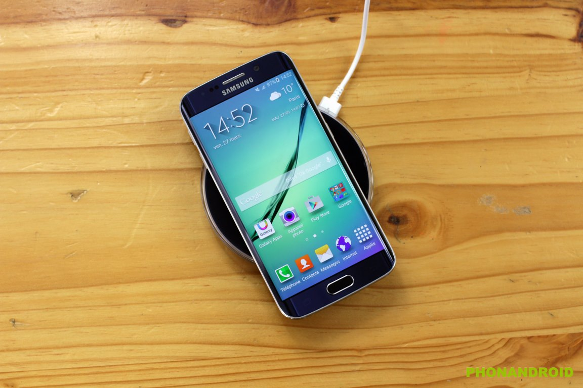 galaxy s6 edge recharge sans fil