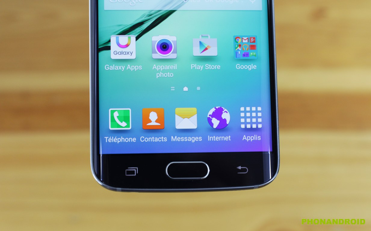 galaxy s6 edge touches tactiles