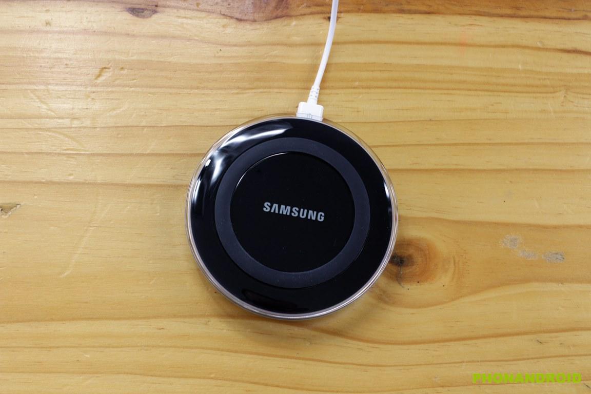 galaxy s6 edge unboxing chargeur sans fil
