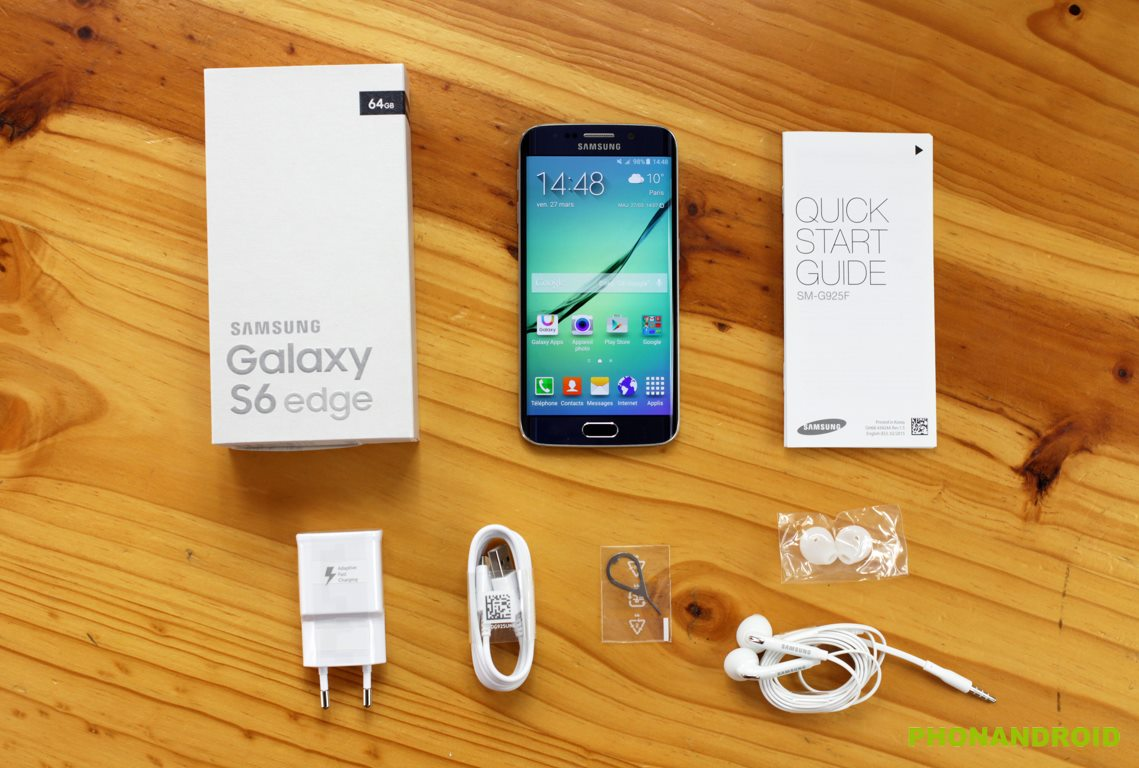 galaxy s6 edge unboxing
