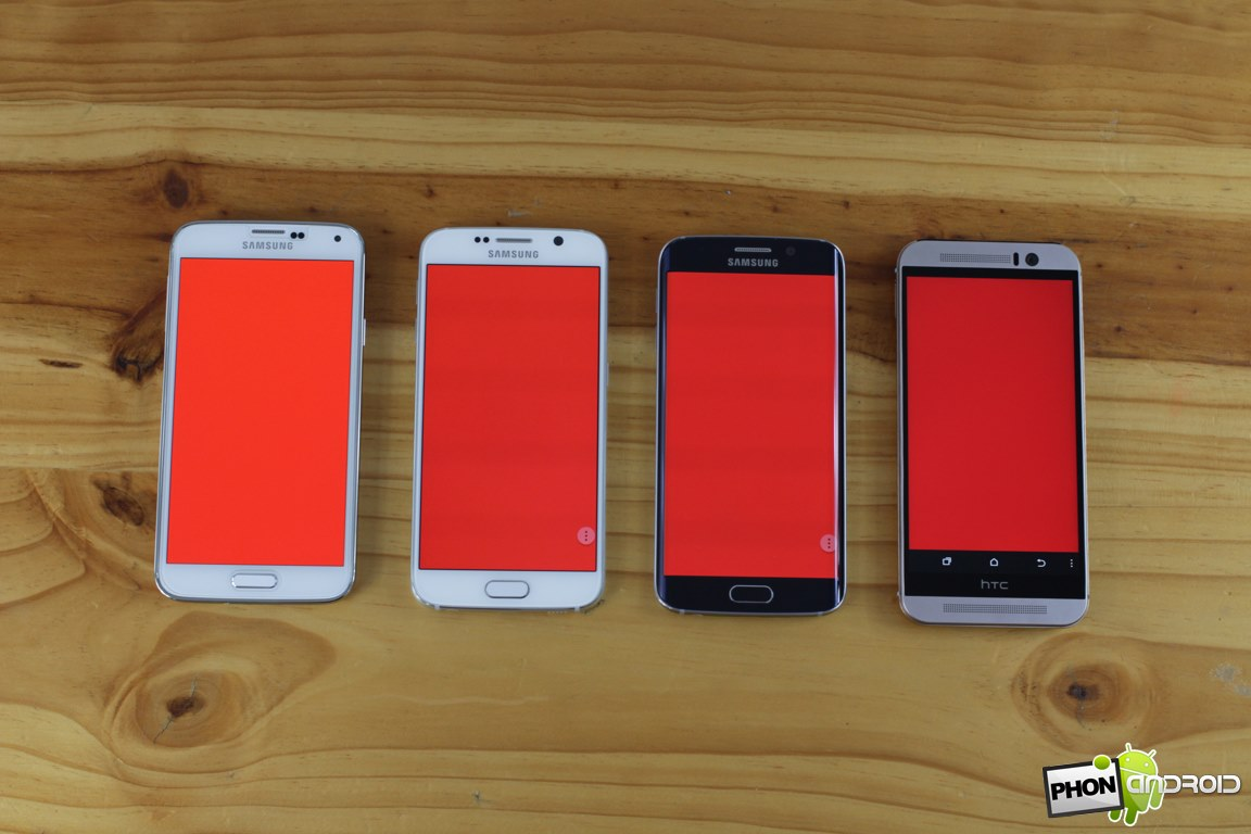 galaxy s6 rouge