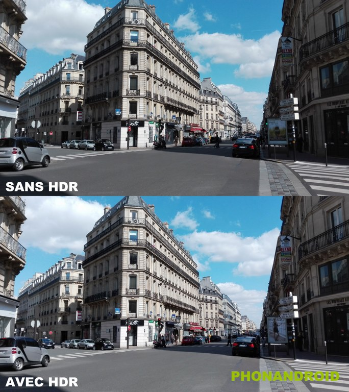 honor 4x photographie hdr