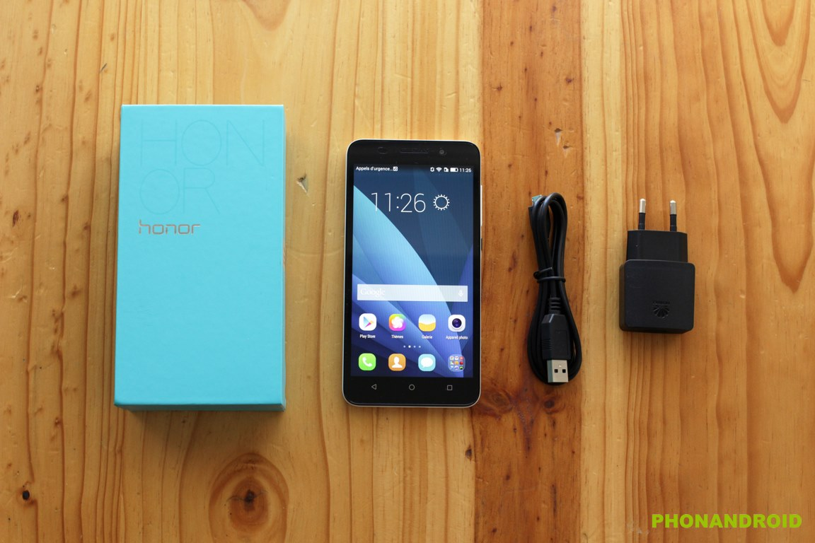 honor 4x unboxing
