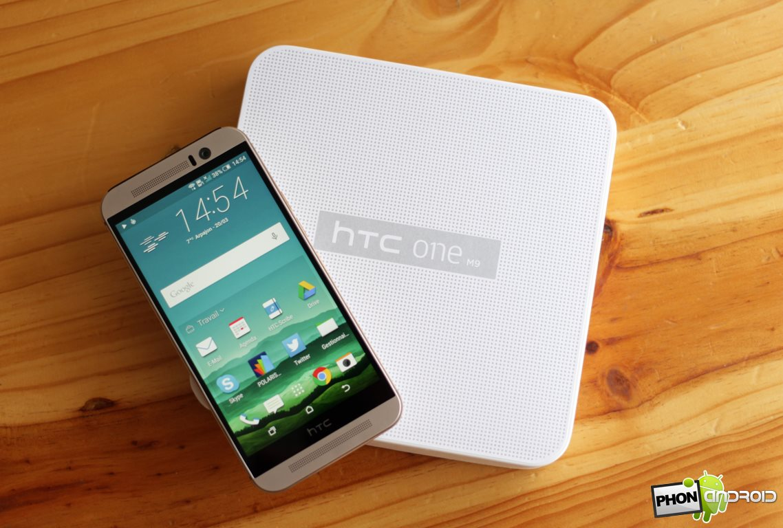 HTC One M9, le code source