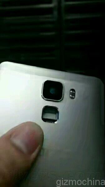 Huawei Honor 7, capteur digital