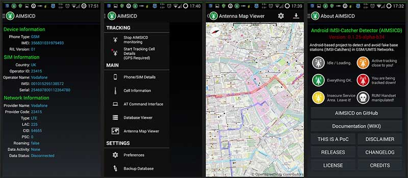 imsi catcher application android