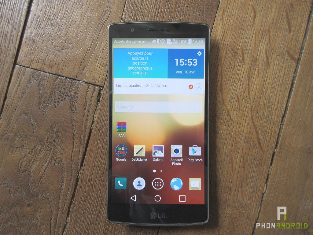 LG G Flex 2, 1080p