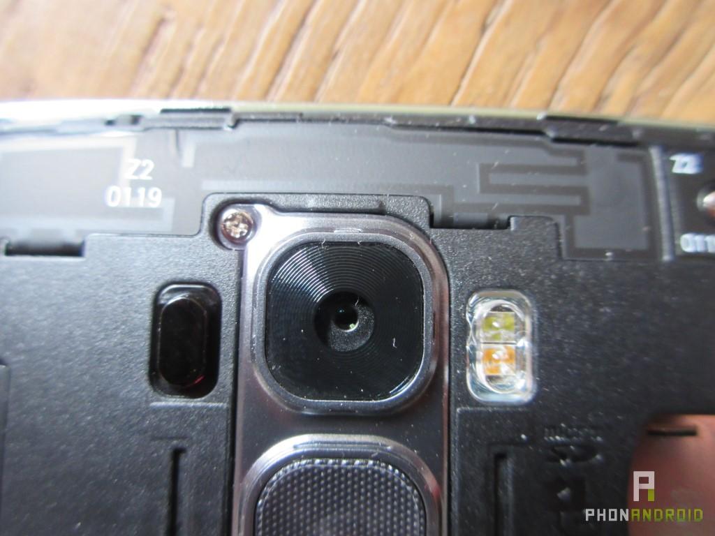 LG G Flex 2, capteur photo
