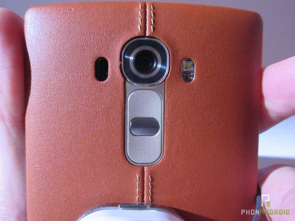 LG G4, capteur photo